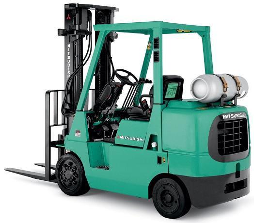 Xe nâng hàng mitsubishi động cơ đốt trong