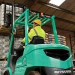 Xe nâng Mitshubishi Forklift